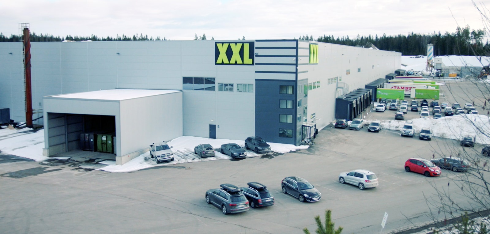 Central Warehouse Norway XXL
